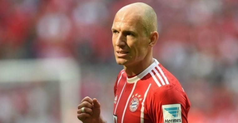 Heynckes maakt zich zorgen om blessure Robben: 'Het ligt moeilijk'