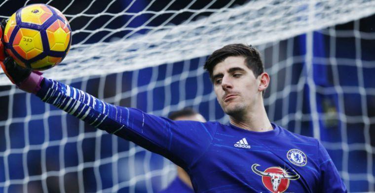 'Courtois heeft door situatie waarschijnlijk slecht nieuws voor Chelsea'