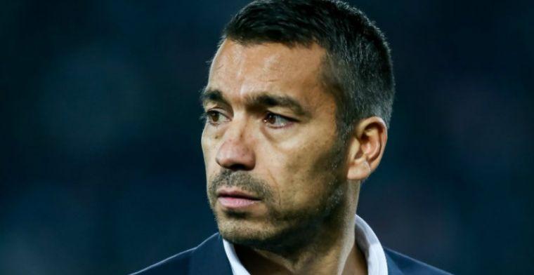 Van Bronckhorst ontkent Feyenoord-wissel: Eenmalig voor deze wedstrijd