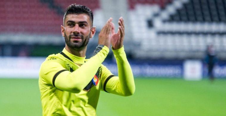Wegkwijnende Vitesse-speler liet contract ontbinden: Uitzichtloos