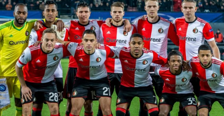 'Pers vangt bot: jonge Feyenoord-debutant direct ziek naar huis na Napoli-thuis'