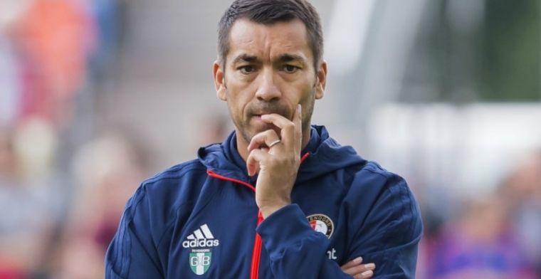 Feyenoord-blessuregeval ligt voor op schema en sluit al aan