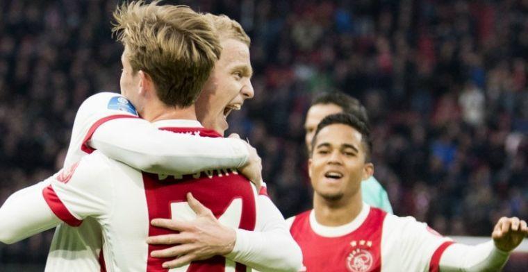 Ajax mogelijk weer met vier middenvelders ondanks 'cadeautjes': 'Moeten er staan'