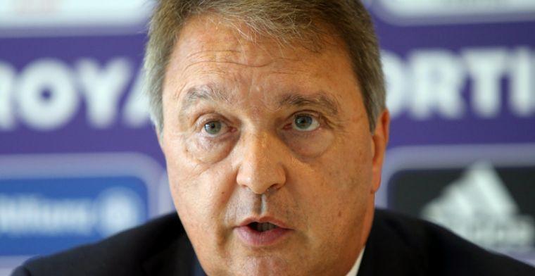 'Anderlecht moet blijven zoeken naar nieuwe spits: plan moet in de koelkast'
