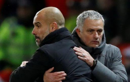 Afbeelding: Mourinho geeft zich gewonnen in titelstrijd: 'City heeft heel veel geluk'