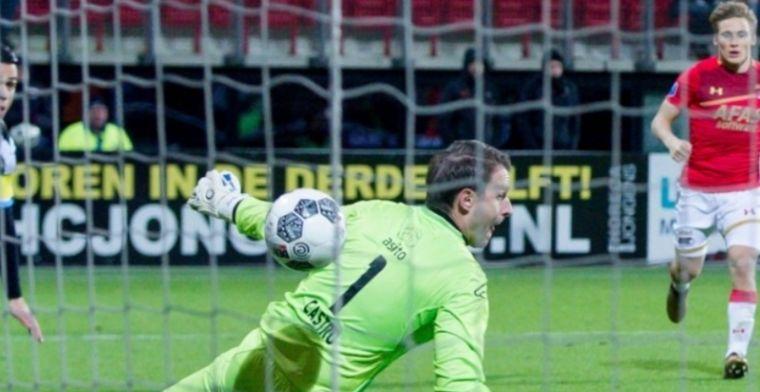 Belgische doelman blundert erop los: Het ziet er lullig uit