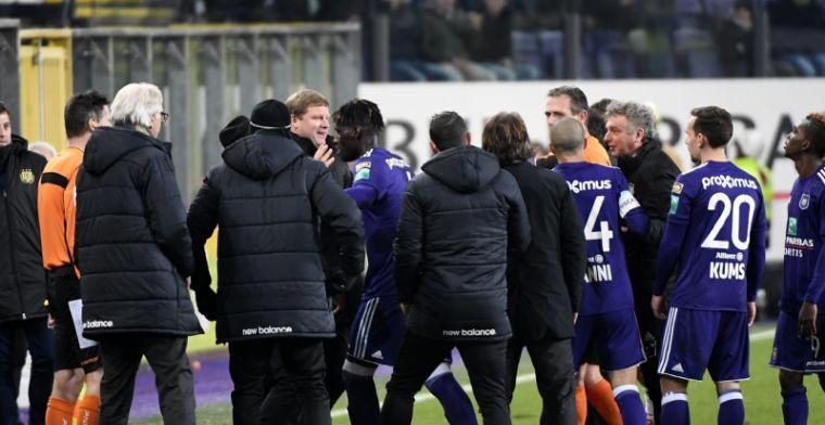 Anderlecht gaat akkoord met boete na incidenten tijdens bekerduel met Standard