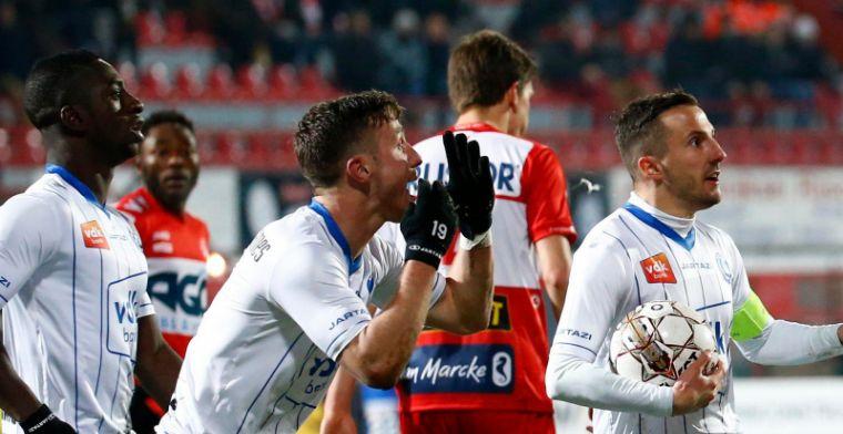 Kortrijk maakt einde aan bekerdroom van Gent na doelpuntrijke wedstrijd
