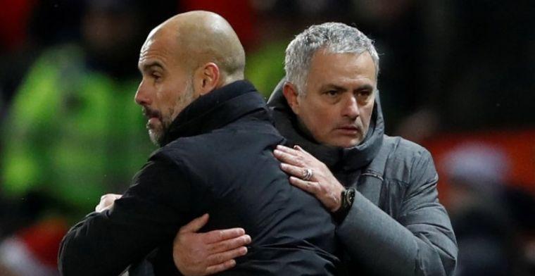 Mourinho deelt sneer uit aan Guardiola: 'Verschil in gedrag en in educatie'