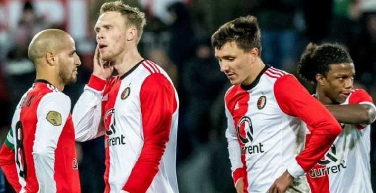 Feyenoorder niet te genieten: Gewoon, ik ben het zat. Niet goed genoeg