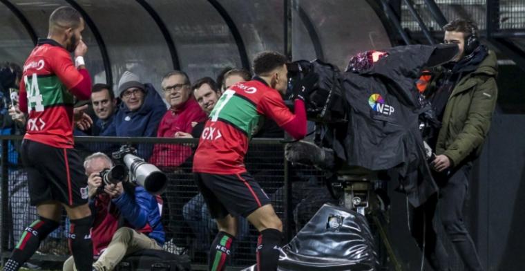 NEC is koppositie kwijt in Jupiler League, Jong Ajax verspeelt punten