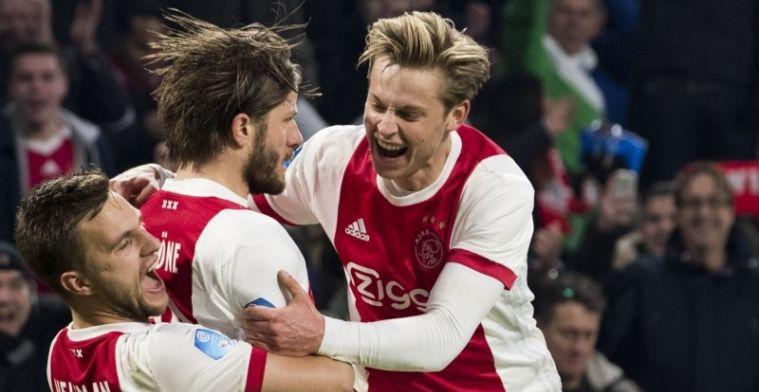 'Ajax bereikt mondeling akkoord en heeft beet: nieuw contract tot medio 2022'
