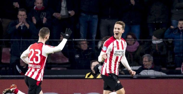 PSV rekent snel af met ADO, zet Ajax en AZ op acht punten en is winterkampioen