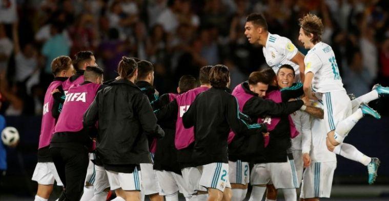 Ronaldo schiet Real Madrid in Abu Dhabi naar vijfde hoofdprijs van 2017