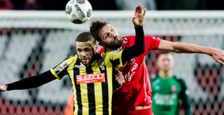 Twente sprokkelt punt tegen Vitesse: fraaie goals Jensen en Mount