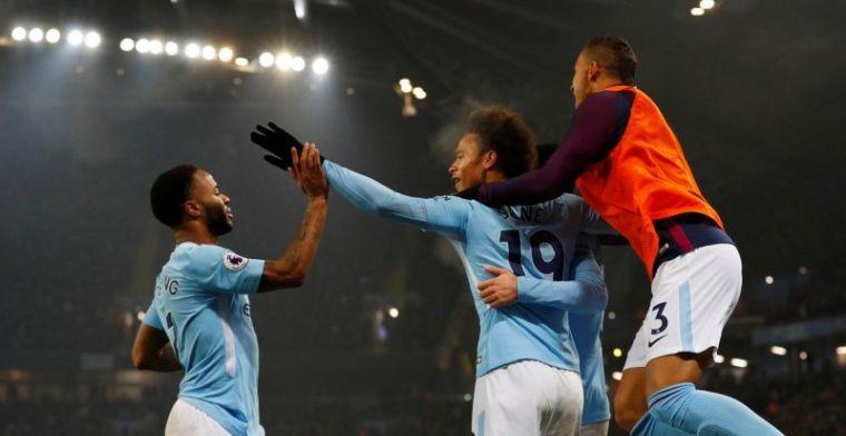 Man City geeft ook Tottenham voetballes: 4 goals, 16e zege op rij, 14 punten los