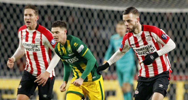 Afbeelding: Goed gevoel PSV'er: 'Belangrijke passes gegeven, maar die gingen er niet in'