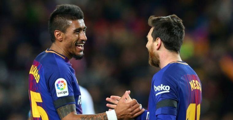 Suárez en Paulinho bezorgen FC Barcelona ruime zege; rotavond voor Messi