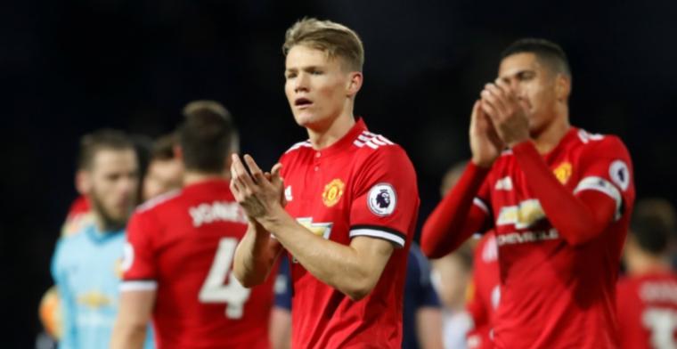 Manchester United slaagt in missie en brengt achterstand terug tot 11 punten