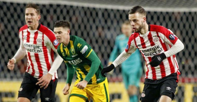 Goed gevoel PSV'er: 'Belangrijke passes gegeven, maar die gingen er niet in'