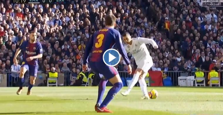 Ronaldo geeft zichzelf een panna: enorme misser van Real-ster