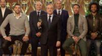 Imagen: El Real Madrid felicita la navidad con sus máximos exponentes