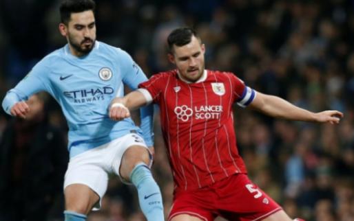 Afbeelding: Bristol weet bijna te stunten tegen City: Agüero redt ploeg in halve finale