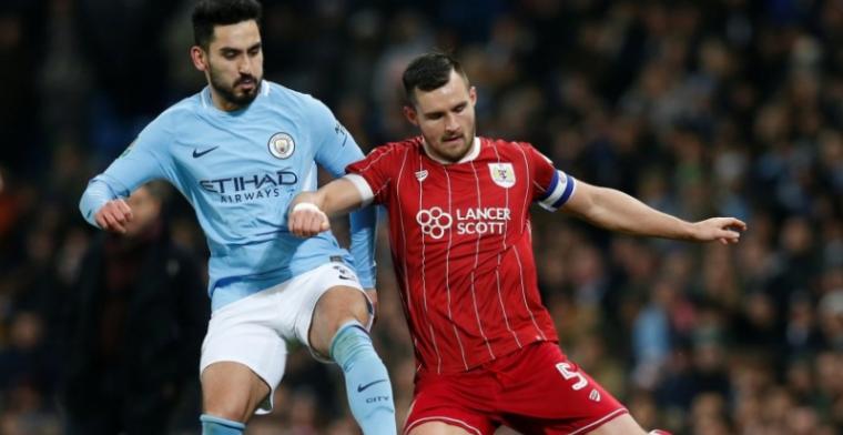 Bristol weet bijna te stunten tegen City: Agüero redt ploeg in halve finale
