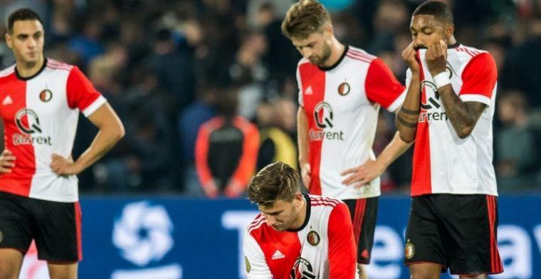 Update: Van der Heijden en twee anderen trainen 'gewoon' met Feyenoord