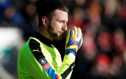 Afbeelding: Engelse doelman houdt nul tegen Leicester City en krijgt jaar lang gratis pizza's