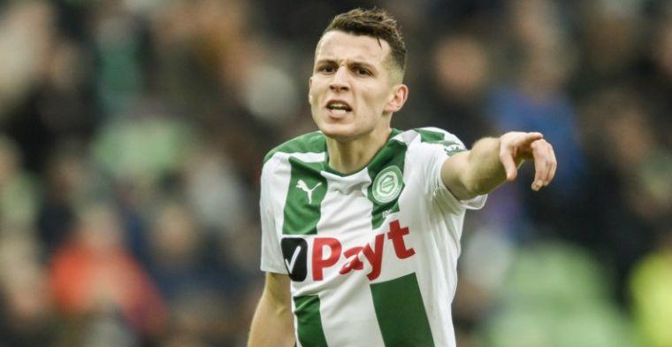 'AZ meldt zich bij FC Groningen voor winterse transfer van aanvaller (21)'
