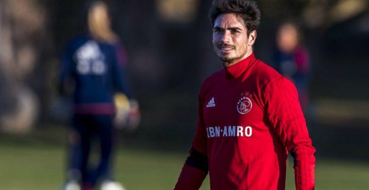 De Ridder keert terug bij Ajax: Ik voel mezelf ook nog een beetje speler