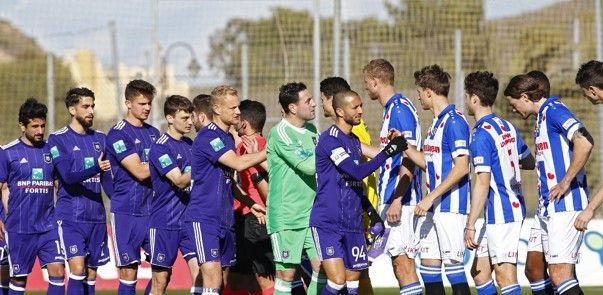 Anderlecht komt niet verder dan gelijkspel, oude bekende valt in bij Heerenveen