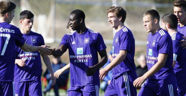 Jonkies van RSCA geven het goede voorbeeld met winst tegen B-team van Heerenveen