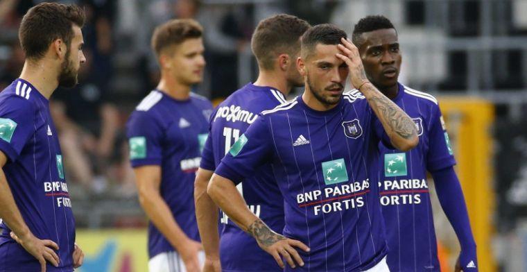 'Transferitis' treedt op bij Anderlecht, recordaankoop weigert mee te spelen