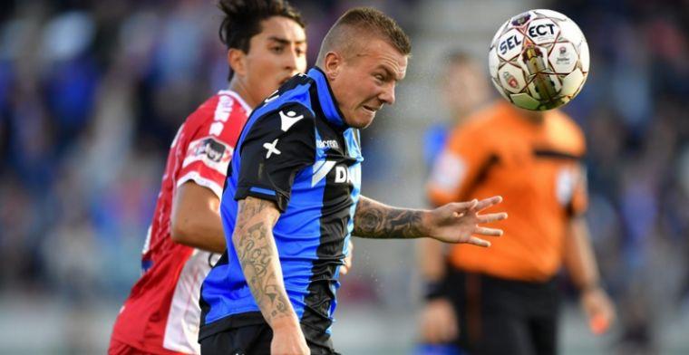 Clasie kijkt zijn ogen uit bij Club Brugge: 'Dit is compleet anders'