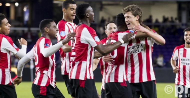 PSV begint 2018 met gelijkspel tegen Corinthians: Lammers held en schlemiel