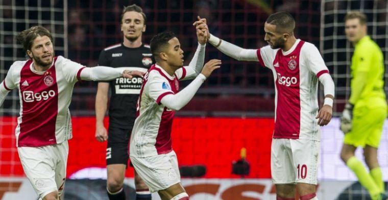 Eredivisie maakt beste elftal bekend: 5 Ajacieden, 2 PSV'ers en een Feyenoorder