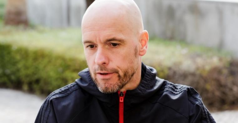 Ten Hag lyrisch over 'leider' van Ajax: 'Dat is niet voor niets, hij bevalt me'