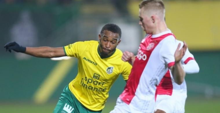 Fortuna Sittard sleept kraker tegen Jong Ajax binnen en pakt periodetitel