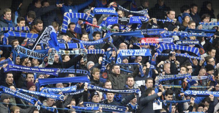 Club Brugge-fans hekelen politie: 'Hebben jullie niks beters te doen?'