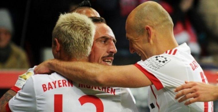 Bayern München wint met herstelde Robben in Leverkusen en staat 14 punten voor
