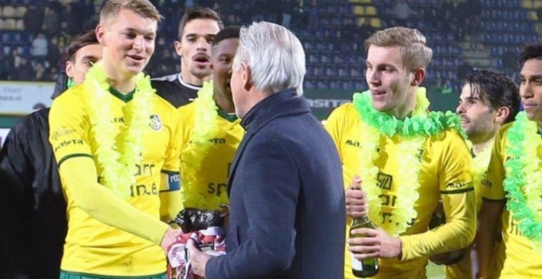 Schuurs heeft grootse plannen: 'Volgend jaar in de Eredivisie tegen Fortuna'