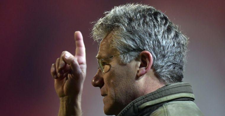 Bölöni houdt druk af: Volgens mij is Club Brugge niet meteen onze concurrent