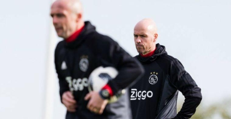 Ten Hag gooit Ajax niet op de schop: 'Op één of twee plaatsen kunnen veranderen'