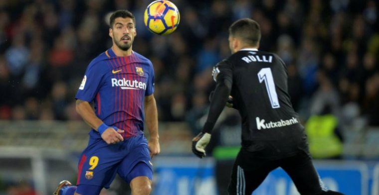 Voetbalshow Barcelona: Suarez en Messi leiden koploper langs angstgegner