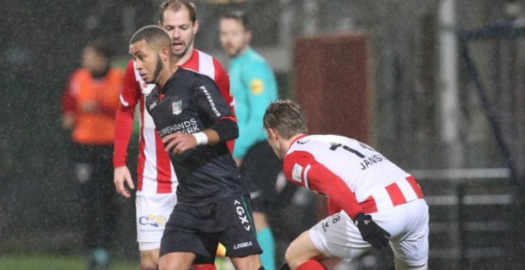 NEC ingemaakt door FC Oss, Cambuur wint op bezoek in Alkmaar