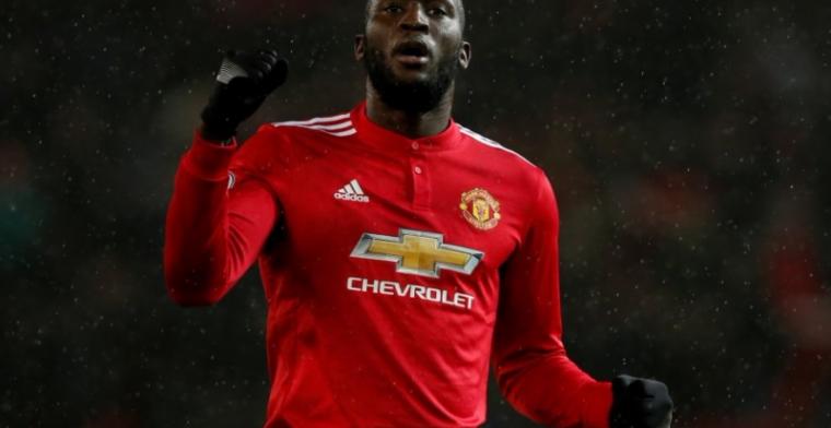 Manchester United wint met scorende Lukaku eenvoudig van Stoke