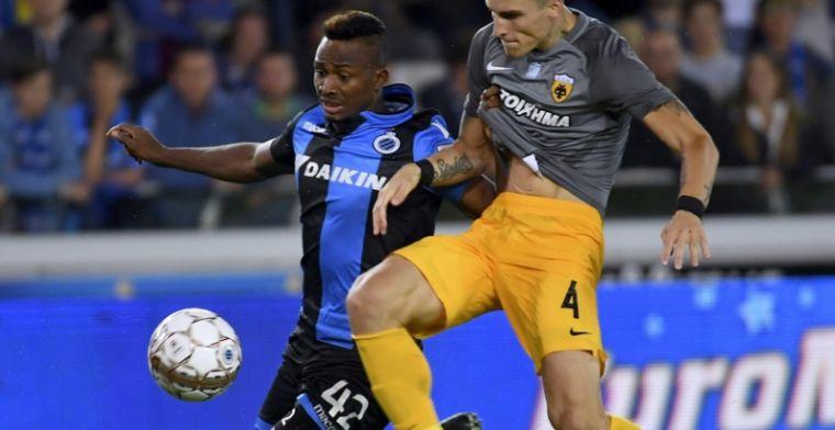 'Beul van Brugge niet richting RSCA, eerste bod wordt meteen afgewezen'