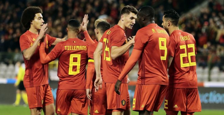 'Uitgelekt: Rode Duivels oefenen tegen nummer 3 op FIFA-ranking'